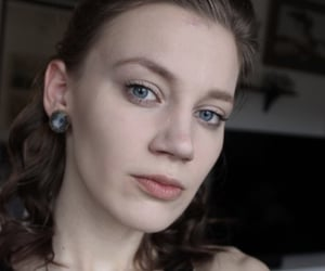1800s, blue eyes, and girl image