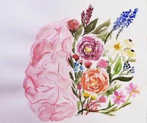 art, beauty, and brain image