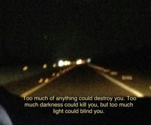 deep, light, and quotes image