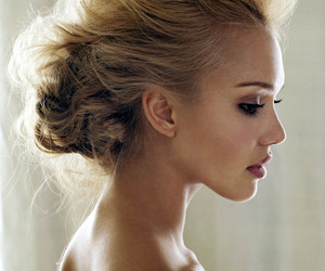 jessica alba, hair, and pretty image