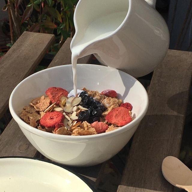 Image de breakfast, granola, and yummy