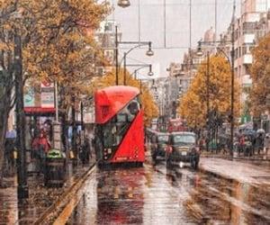 adventure, autumn, and rain image
