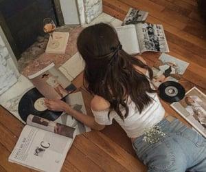 girl, aesthetic, and music image