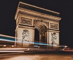arc de triomphe, architecture, and cityscape image