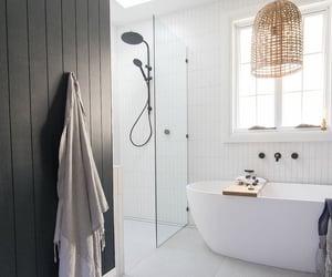 banheiro, bathroom, and decoration image