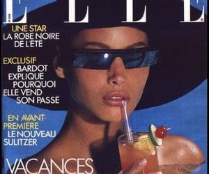 magazine, 90s, and Elle image