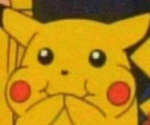 pikachu, pokemon, and meme image