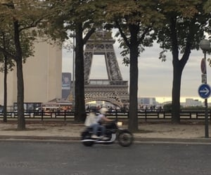 couple, france, and paris image