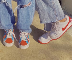 shoes, nike, and outfit image