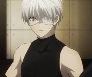 anime, kaneki, and anime boy image