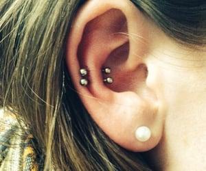 alternative, ear piercings, and Piercings image
