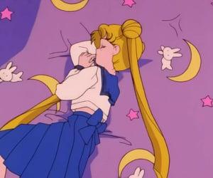 sailor moon, anime, and homework image