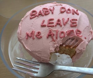 pink, cake, and aesthetic image