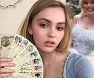 lily rose depp and girls image