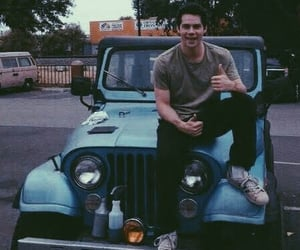 teen wolf, stiles stilinski, and jeep image