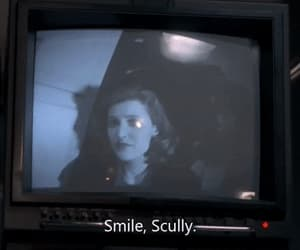 90's, mulder, and scully image