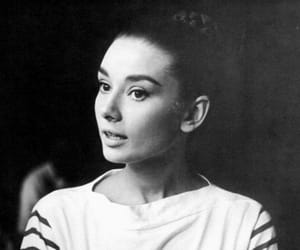 60s, audrey hepburn, and black and white image