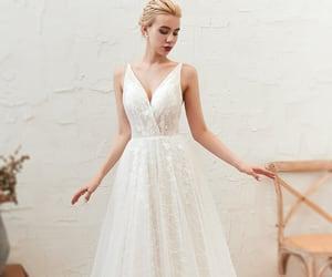 romance, wedding dress 2020, and cheap dress image