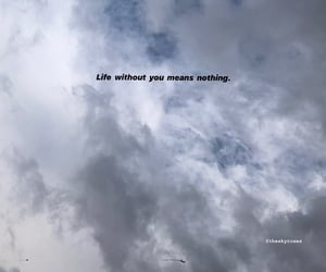 quotes, sky, and love sky image