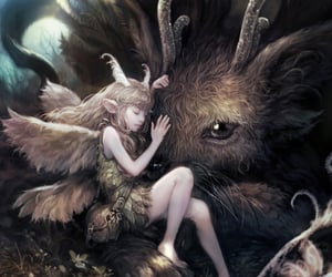 fairy, fantasy, and art image