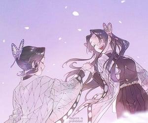 shinobu and kimetsu no yaiba image