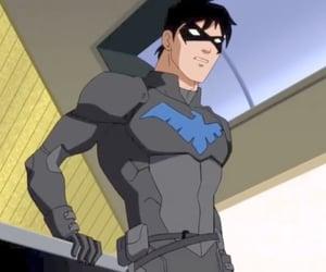 batman, dick grayson, and robin image