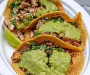 avocado, steak, and guacamole image