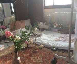 flowers, room, and aesthetic image