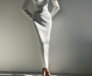 style, white, and beauty image