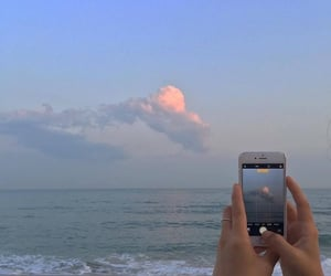 sky, ocean, and aesthetic image