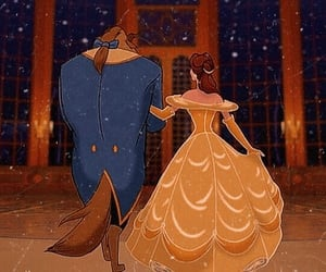 disney, beauty and the beast, and cute image