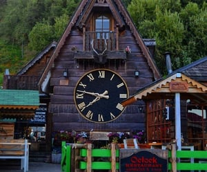 chile, clock, and photo image