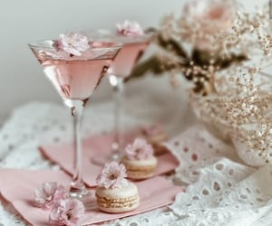 macaroons, warm, and champagne image