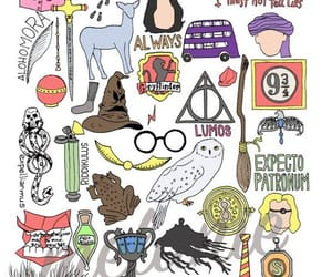 always, frog, and harry potter image