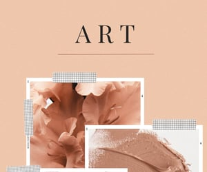 art, flower, and pastel pink image