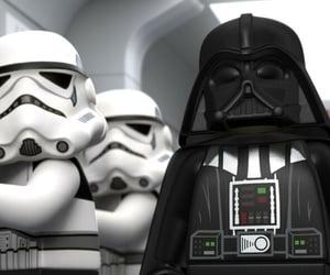 Anakin Skywalker, android, and darth vader image