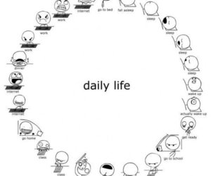 life, daily life, and funny image