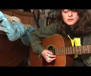 acoustic guitar, video, and singer songwriter image