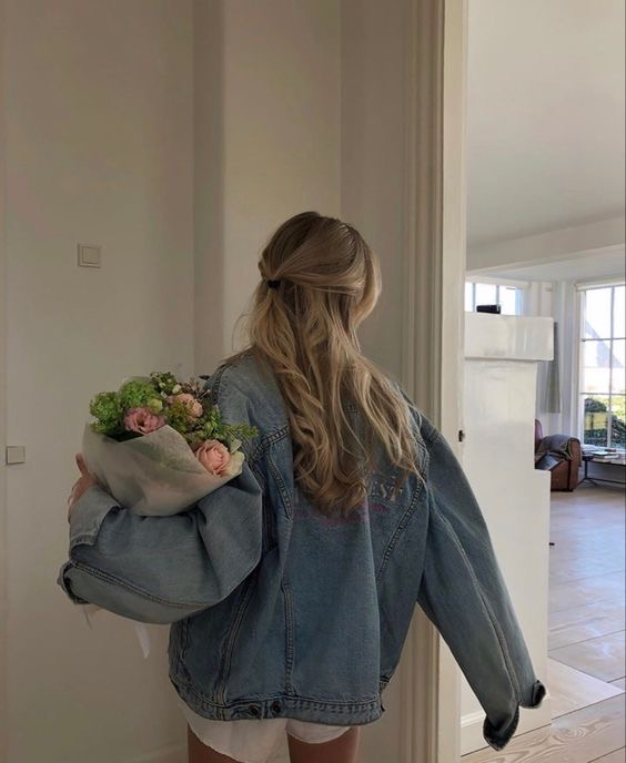 flowers, aesthetic, and blonde image