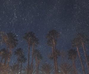 california, nature, and night sky image