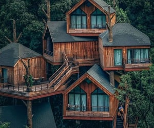 nature, adventure, and house image