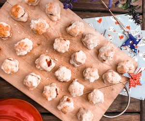 baking, blue, and food image
