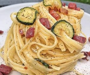 aesthetic, pasta, and zucchini image