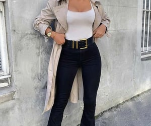 beige, fashion, and stylé image