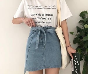 artistic, outfit, and skirt image
