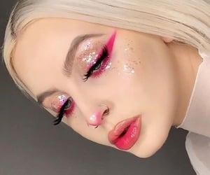 beauty, eyeliner, and highliter image