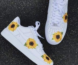 fashion, flowers, and nike image