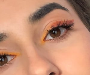 Fire 🔥 makeup look by me 🧡