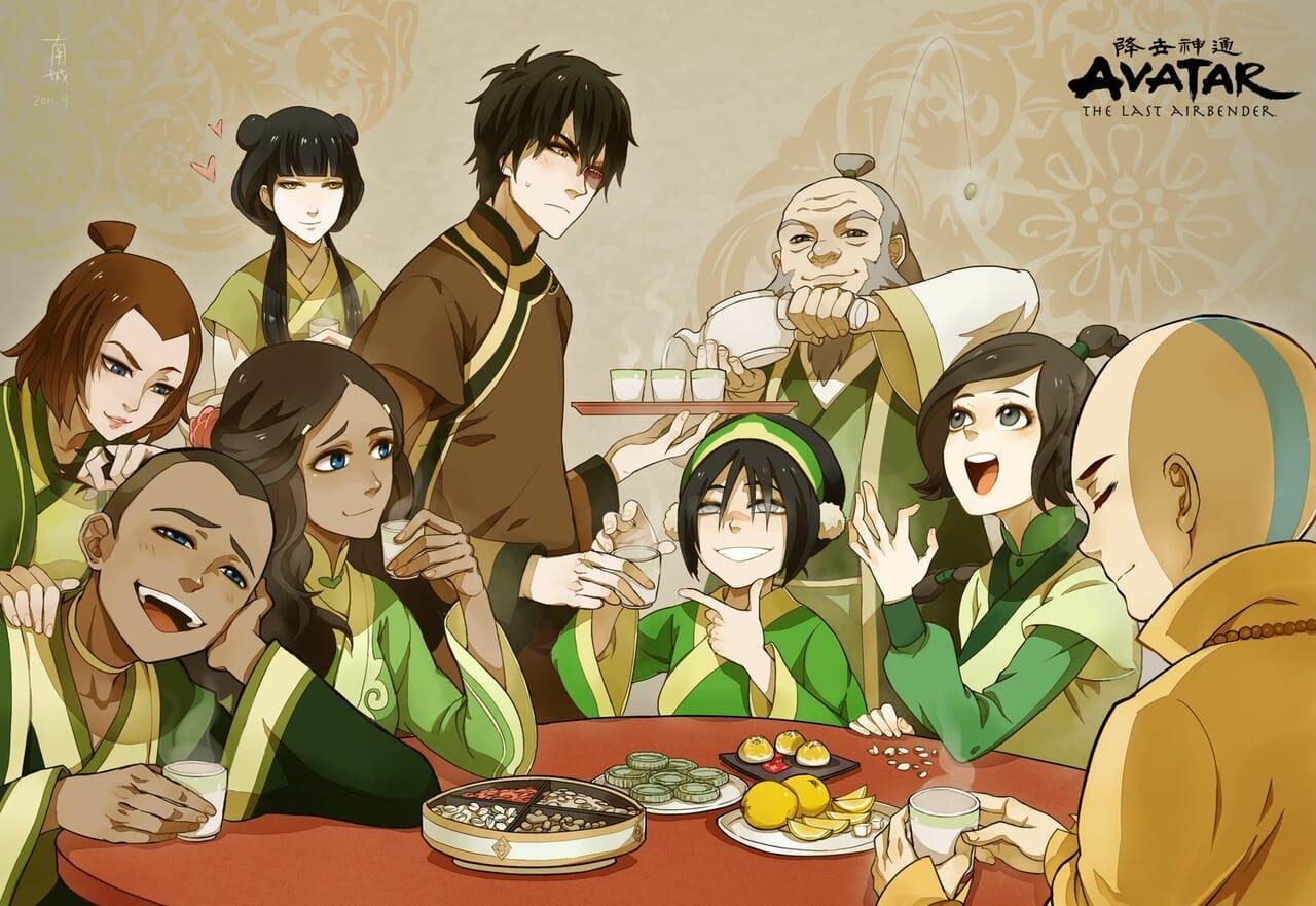 avatar, zuko, and aang image