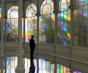 beautiful, madrid, and rainbow image